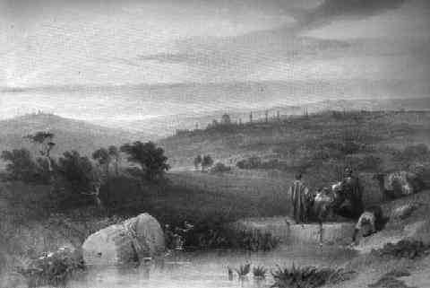 Jerusalem from Mount Scopus, by David Roberts, 1842