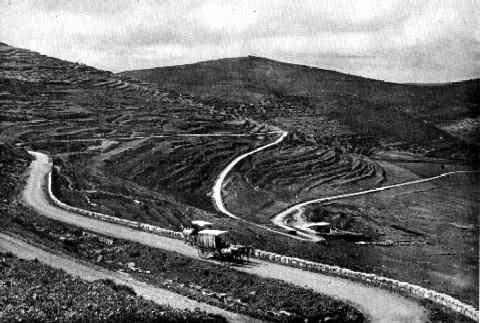 On The Main Road From Shechem To Jerusalem, 1913