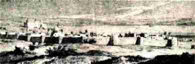 Tiberias before the earthquake of 1837