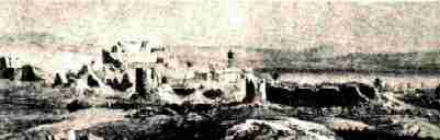 Tiberias after the earthquake of 1837