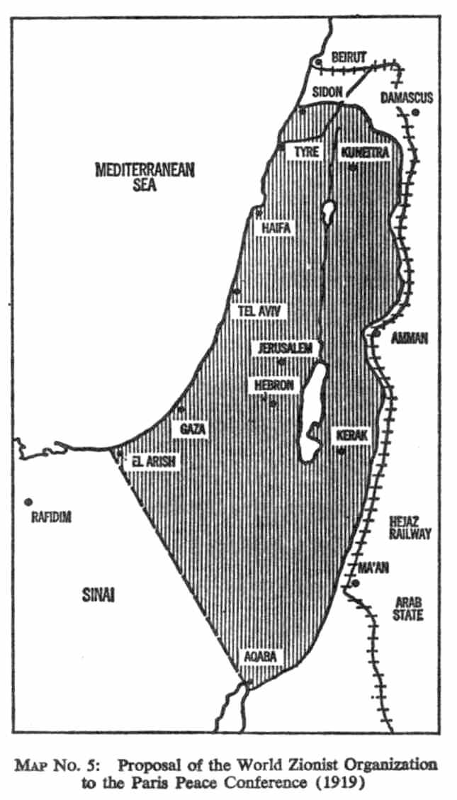 The Origin Of The Dispute Israel Attacked Before There Were